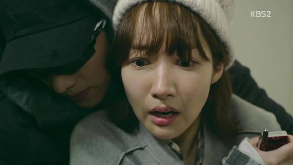 Not your tradition back hug when Healer clips Young Shin's nails!
