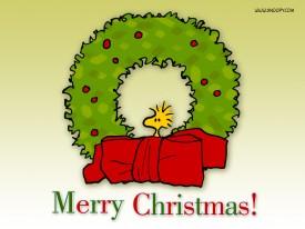 Snoopy-Christmas-Wreath
