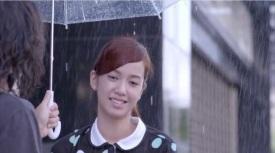 Did not get the job but gets the umbrella
