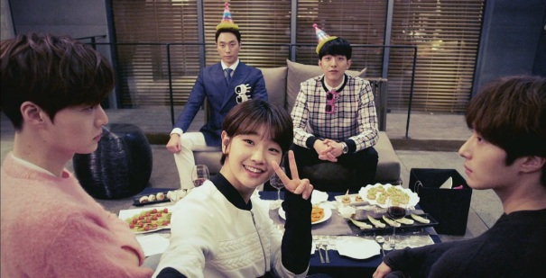 Image result for cinderella and four knights eun ha won ji woon