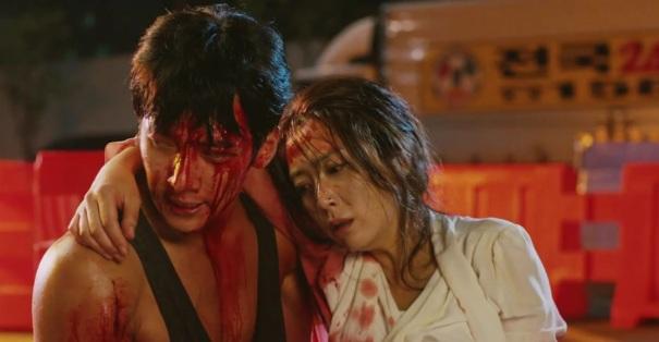 Znalezione obrazy dla zapytania The K2 drama Je Ha shot car